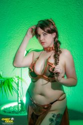 Slave Leia by Chief Geek Photography by SailorsMouth