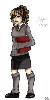 Hermione-Comic-colored by HermioneGrangerClub
