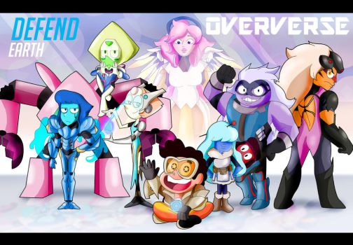 Oververse- Steven Universe and Overwatch Crossover by xeternalflamebryx