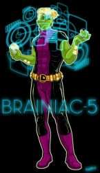 Brainiac-5 (Slight Redesign) by PaulSizer