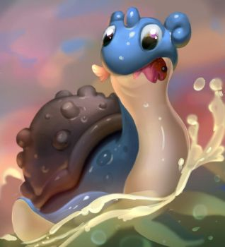 little Lapras by AntonZemskov