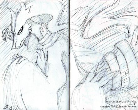 Reshiram by Remember2fly1