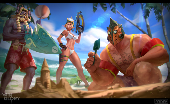 Vainglory: Summer splash by T-razz