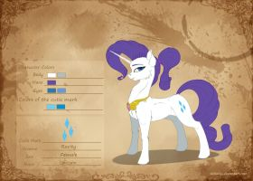 [Concept of the Character] Rarity by Skitsniga