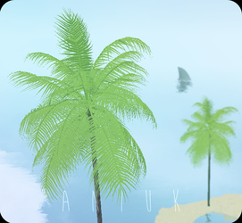 Palm Tree v. 2.0 - Feral Heart Mesh by giddyfox