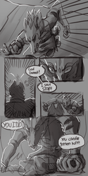 In the Heart of War pg 2 by werwoof