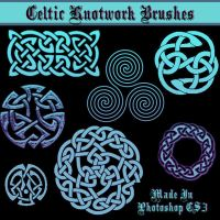 Celtic Knotwork Brushes by dollieflesh-stock