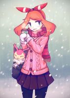Winter Walk by makaroll410