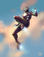 Ultimate Iron Man by johnnymorrow