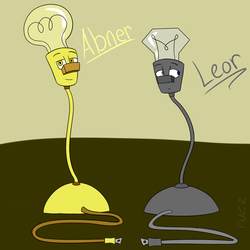 Abner and Leor by LadyFuzzChild