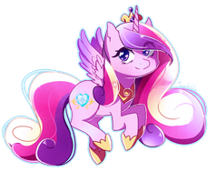 Chibi Princess Cadence by TsuukiUsa