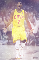 Kyrie Irving by RafaelVicenteDesigns
