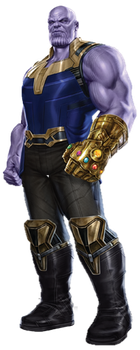 Infinity War Thanos (1) - (UPDATED) - Transparent by Captain-Kingsman16
