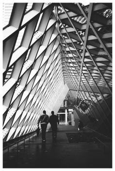 Seattle Public Library by banjoeskimo