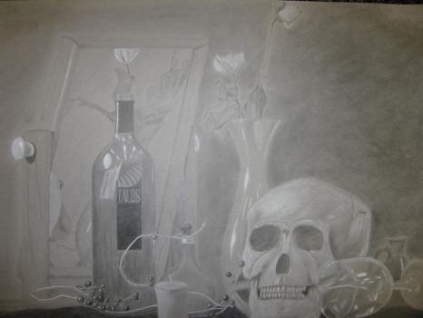Wine and Death by roothragon