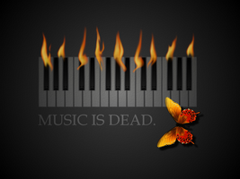 music is dead. by CheeseTitans