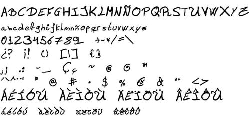 Asfhy Font 1 Version 1 by Asfhy