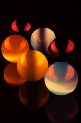 Marbles-glass-colorful Light by digipassion