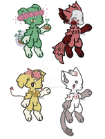 Animal Adopts Open by Odd-doodles