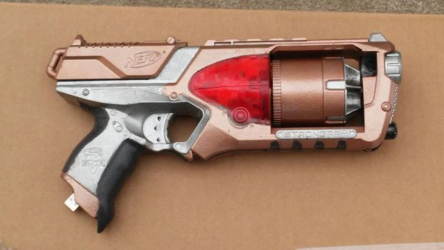 Steampunk Nerf Strongarm 2 by Vladium