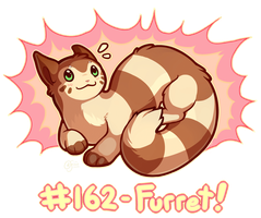 Pokemon #162 - Furret