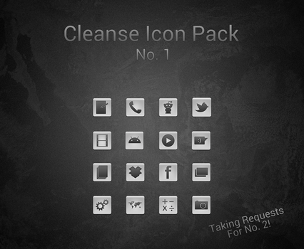 Cleanse Icon Pack No. 1 by Dobloro