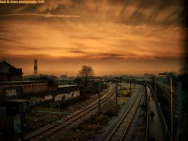 The Rail to infinity by hdai007