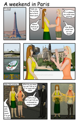 A weekend in Paris 1/7 by hippo2