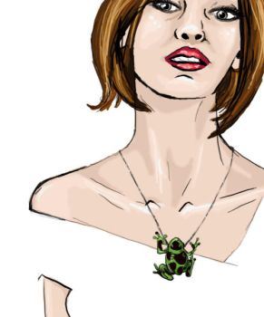 Froggy Necklace by euphoria066