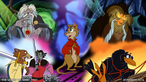 I Heart The Secret Of NIMH. by Atariboy2600