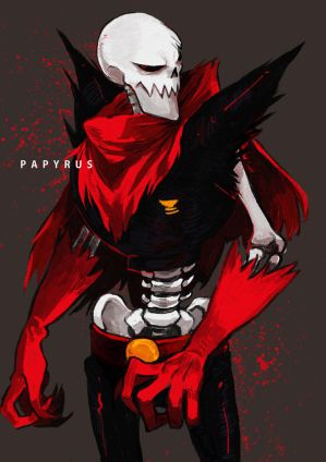 underfell papyrus x pregnant reader by animelover1014 on DeviantArt
