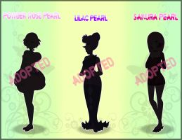 Spring Theme Pearl Adoptables~!((CLOSED!!!)) by Tia-Moon78