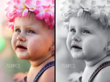 Pink baby by Adripics