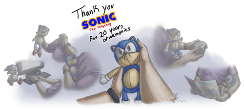 Thank you for 20 years by Jammerlee
