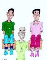 Black Fathers Matter The Jove men with stepson by skyvolt2000