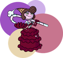 Cuphead - Baroness Von Bon Bon 2 by FictionalCanvas