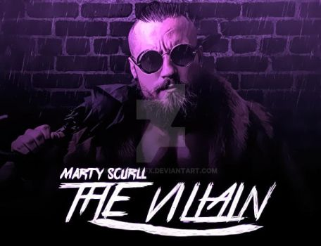 The Villain Marty Scurll by C-KrowGFX