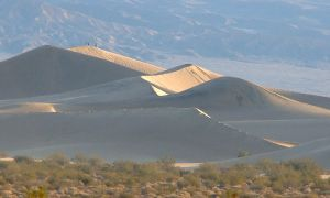 Death Valley Sand Dunes by Geotripper