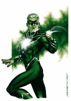Green Lantern, Alan Scott of Earth 2 by Guy-Bigbelly