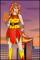 Kyojin Sunset Shimmer by blcksheep