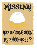 Missing Sweetroll by Cinn-Ransome