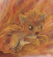 Vulpix Z by Yellyy