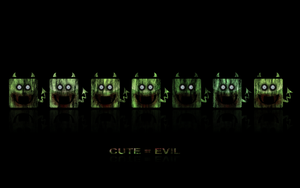 Cute is evil - zombie edition by darianno