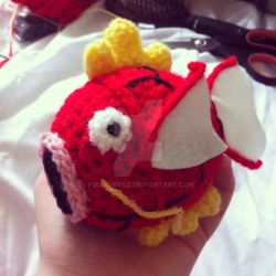 Mini Magikarp by Pikacheekz