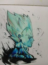 vegeta dblegend by AeroLP