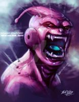 Majin buu Plus video by Mark-Clark-II