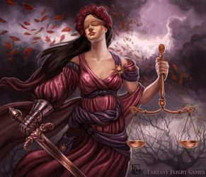 Avatar of Justice for Talisman by feliciacano