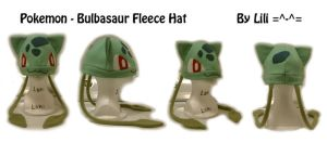 1st Gen - 001 Bulbasaur Hat by LiliNeko