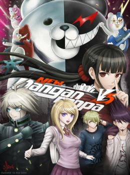 New Danganronpa V3 by Mehrad-shahbodaghi