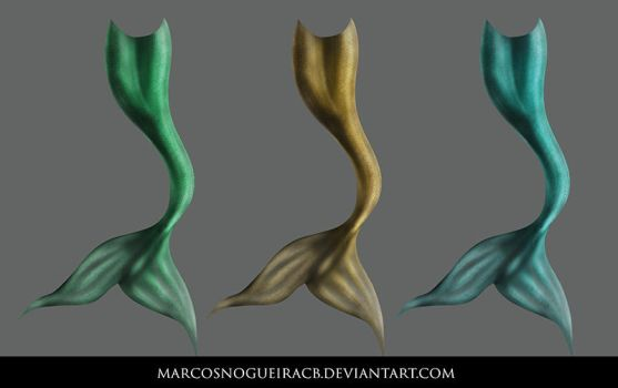 Mermaid tail by marcosnogueiracb